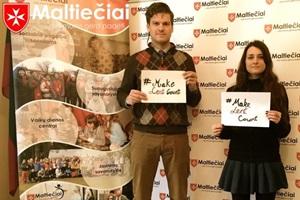 Maltiečių iniciatyva rinkti lėšas karo aukoms