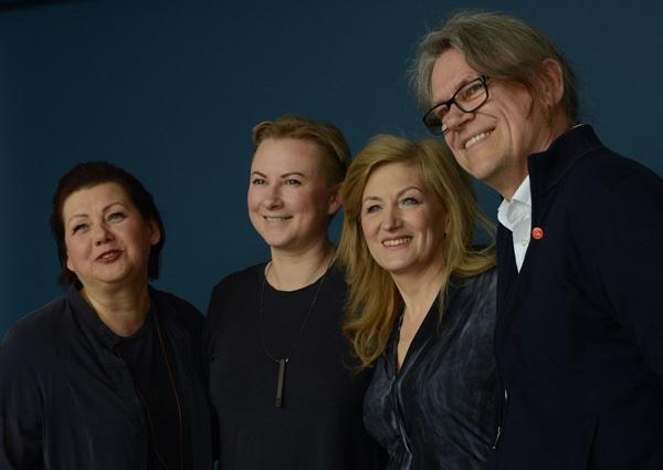 Socialinio projekto sumanytojai ir dalyviai – brolis Benediktas Jurčys, Nijolė Raudytė, Julija Janulaitytė, Aldona Kerpytė.