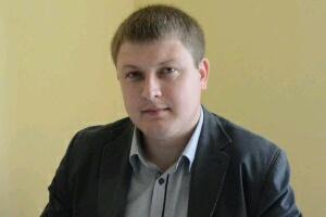 Tryškių kultūros centro direktorius E. Einikis.