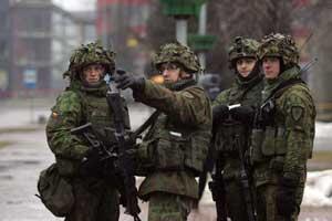 Šiuo metu Lietuvos kariuomenėje tarnybą atlieka antroji šauktinių laida.