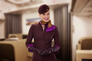 Cabin Crew in Business Class