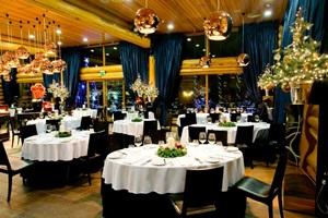 Restorane sventiska atmosfera susipina su prabanga