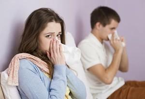 Atvėsus orui, padaugėjo susirgimų gripu.