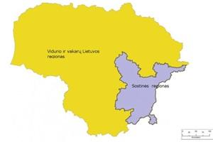 lietuva-du regionai