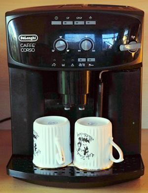 naudoti kavos aparatai