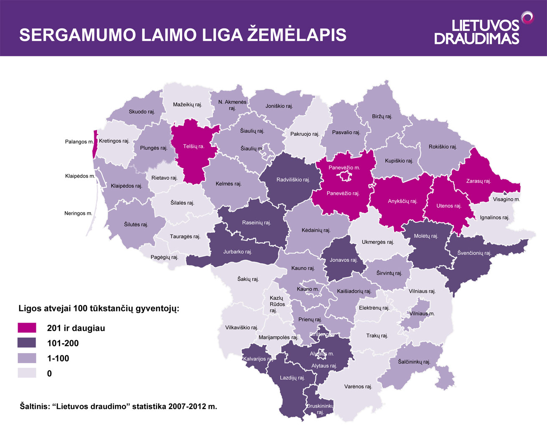 Laimo-ligos-paplitimo-zemelapis 2013-05