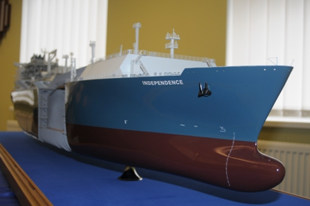 SGD laivo-saugyklos modelisI