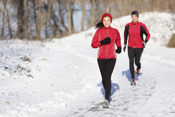Bėgioti galima ir žiemą: 5 patarimai, kaip tai daryti teisingai