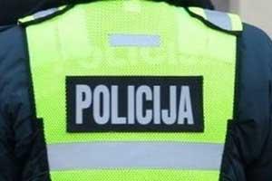 Policija įspėja: už melagingą pranešimą – atsakomybė