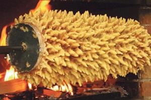 Didžiausio pasaulyje šakočio kepimo šventė Druskininkuose