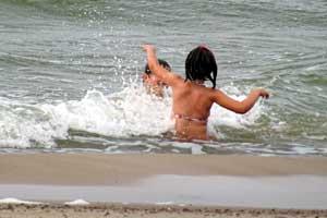 Jūroje ties Palanga maudytis saugu – vanduo atitinka higienos normas