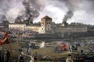 """LDK istorijos atkūrimo festivalis """"Medininkų pilies apgultis. 1402-ieji"""""""