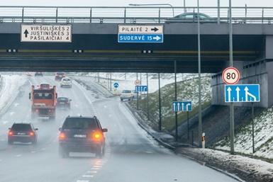 Saugaus eismo srityje Lietuva – viena pažangiausių