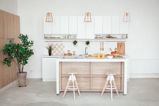 5 patarimai, kaip išsirinkti baldus mažai virtuvei