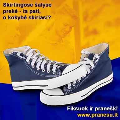 Skirtingos kokybės prekės Lietuvoje ir kitose šalyse? Netylėk