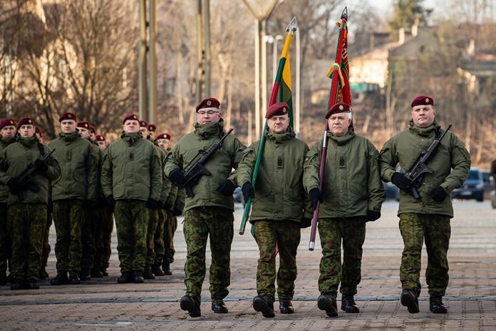 Krašto apsaugos savanorių pajėgos mini 29-ąsias įkūrimo metines