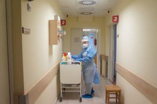 Respublikinėje Šiaulių ligoninėje gydoma pirmoji pacientė šalyje, užsikrėtusi koronavirusu