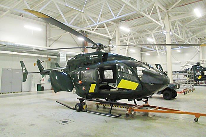 Turto bankas aukcione parduoda sraigtasparnį